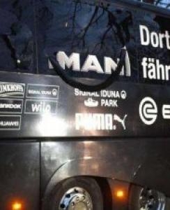 多特蒙德大巴遭爆炸物袭击一球员受伤 欧冠比赛延期