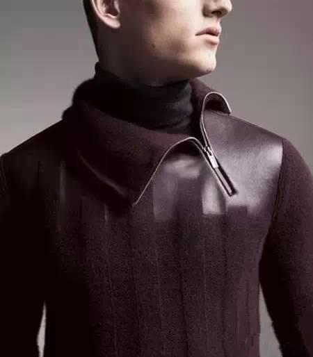 男士高领毛衣怎么搭10